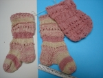 8_Ponožky růžové 10 cm
