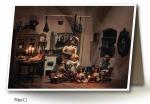 Vánoční přání - 5 kusů - Kuchyňka 2