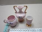 Porcelán růžový