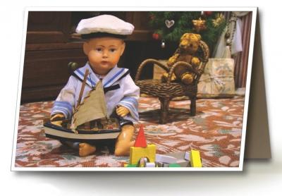 Přáníčka_kluk s lodičkou