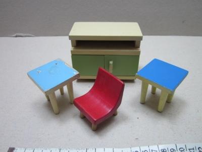 Skříňka a sezení