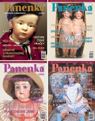 Panenka-ročník 2010 - 4 výtisky